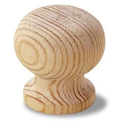 Gałka drewniana G75